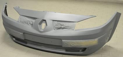 Передній бампер на Renault Megane II - Купити бампер Рено Меган на Авто.про Україна