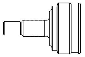 піввісь (привід) передня, ліва  839010
