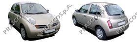 Передній бампер на Nissan Micra K12 - Купити бампер Нісан Мікра на Авто.про Україна