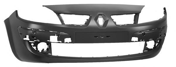 Передній бампер на Renault Scenic GRAND II - Купити бампер Рено Сценік на Avto.pro Україна