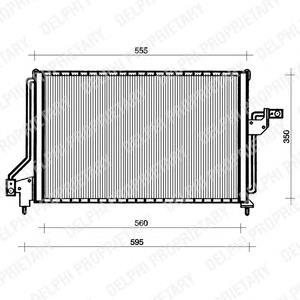 радіатор кондиціонера  TSP0225047