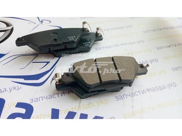 колодки гальмові задні, дискові  TKY82648ZA