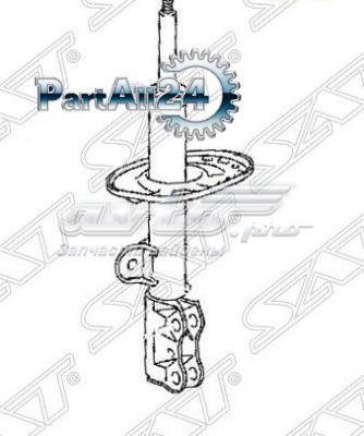 амортизатор передній, лівий  ST4852080074
