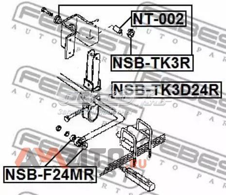 втулка стабілізатора заднього  NSBF24MR