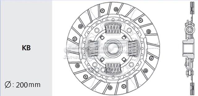диск зчеплення  ns40
