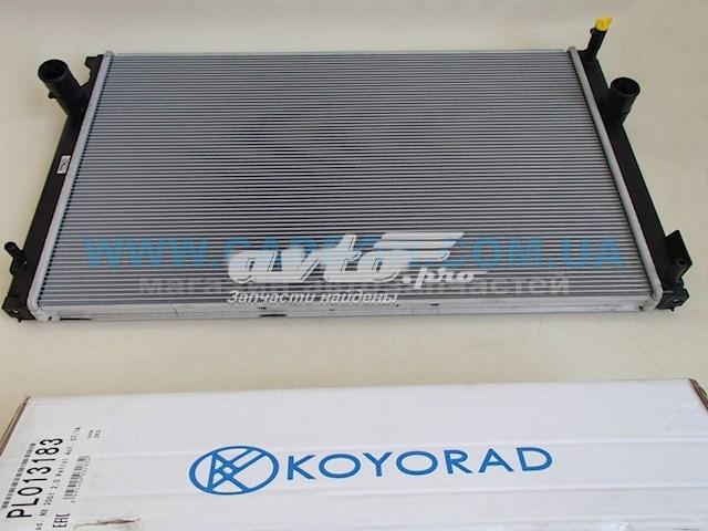 радіатор охолодження двигуна  PL013183