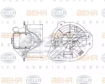 двигун вентилятора пічки (обігрівача салону)  DDV004TT
