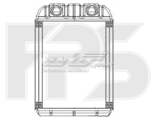 радіатор пічки (обігрівача)  FP12N197