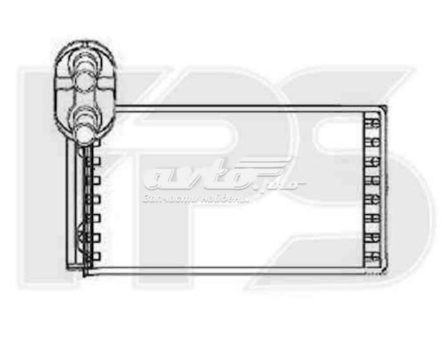 радіатор пічки (обігрівача)  FP74N30