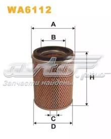 фільтр повітряний  WA6112