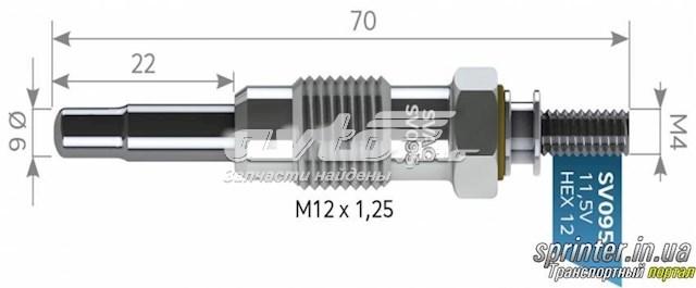 свічка накалу  SV095