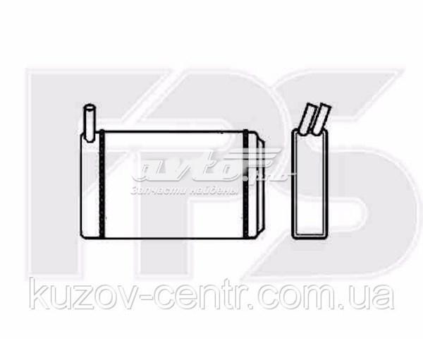 радіатор пічки (обігрівача)  FP12N58