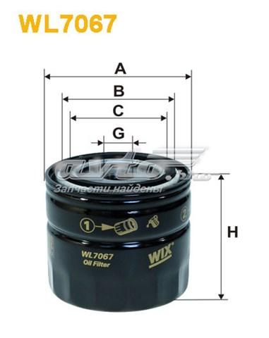 фільтр масляний  WL706712