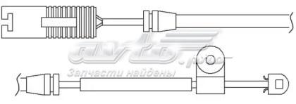колодки гальмівні передні, дискові  WS0201A