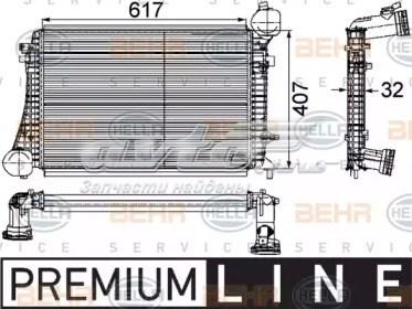 радіатор интеркуллера  DAA010TT