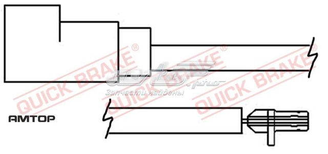колодки гальмівні передні, дискові  WS0257B