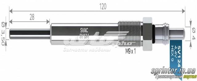 свічка накалу  SV124