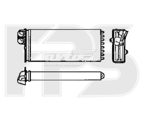 радіатор пічки (обігрівача)  FP56N56
