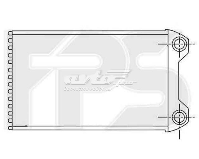 радіатор пічки (обігрівача)  FP12N108