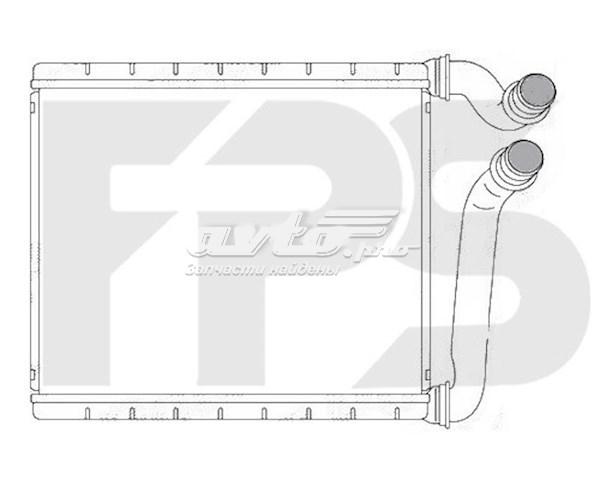 радіатор пічки (обігрівача)  FP64N156