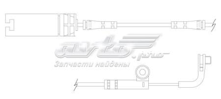датчик зносу гальмівних колодок, передній  WS0218