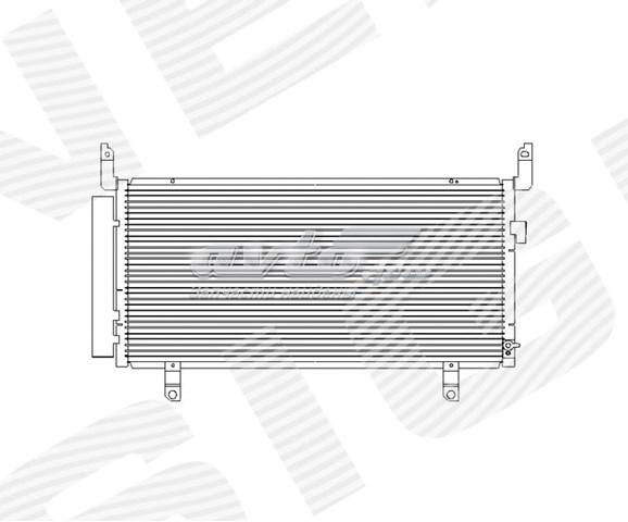 радіатор кондиціонера  RC4302