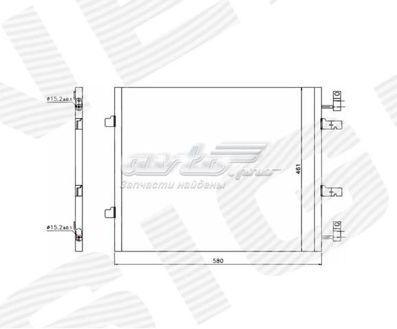 радіатор кондиціонера  RC940147