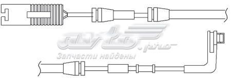 датчик зносу гальмівних колодок, передній  WS0224