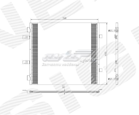 радіатор кондиціонера  RC940201