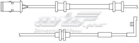 датчик зносу гальмівних колодок, передній  WS0194A